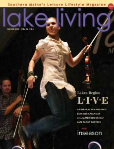 Lake Living cover girl